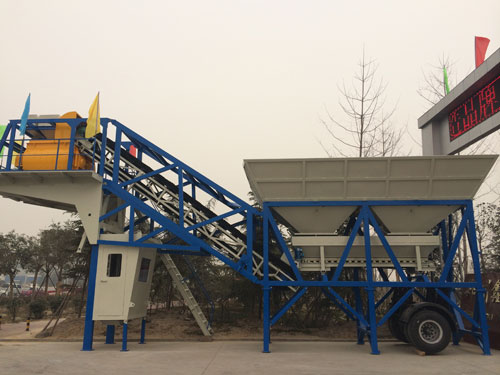UTM-35 Mobile Concrete Batching Plant